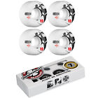 Bones Skateboard Wheels STF V2 Thin White with INDEPENDENT ABEC 7 Bearings