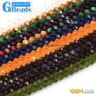 Wholesale Lot Assorted Stones Polygonal Beads For Jewelry Making Free Shipping