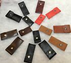 LEATHER CASE FITS DONGLE,USB, DIGIFOB,DIGIVU,VAPOUR E PEN,  S/M/L / BELT LOOP