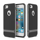 Slim Shockproof Hybrid PC Hard Bumper+TPU Rubber Case Cover For iPhone 7 7S Plus