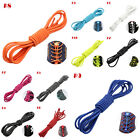 1M Elastic Lock Stretch Shoe Laces Sport Shoelaces Triathlon Running Multi-Color