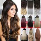 Real Thick,Long Short,Full Head Clip In Hair Extensions,Brown Black Blonde Tah