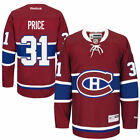 Carey Price Montreal Canadiens Mens Home Premier Jersey Red NHL