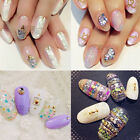 Nail Art Glitter Crushed Shell Chips Powder Dust Tips DIY Decoractions New