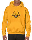 Skull and Crossbones Hoodie - All Cotton Quality