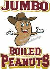 Boiled Peanuts DECAL (Choose Your Size) Food Sign Restaurant Vinyl Concession