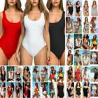 Women's One Piece Monokini Push Up Padded Bikini Swimsuit Sw