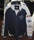Dallas Cowboys Classic Commemorative Champion Team Jacket - Free Shipping - New