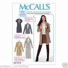 McCall's 7476 Sewing Pattern to MAKE Misses' Drop-Shoulder Vest and Cardigans