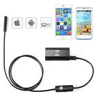 1-5M 6LED Waterproof WiFI Borescope Inspection Endoscope Tube Camera for Android