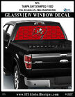 TAMPA BAY BUCCANEERS - STAMPED RED Window Wrap / Truck Car SUV Decal Sticker NFL
