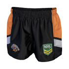 WESTS TIGERS NRL 2017 CLASSIC SPORTSWEAR MENS ADULT SUPPORTER SHORTS