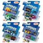 THOMAS & FRIENDS DC SUPER FRIENDS MINIS TRAIN 4 PACK TOY