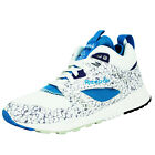 Reebok CLASSIC VENTILATOR MID BOOT AOG Chaussures Sneakers Mode Homme Blanc Bleu