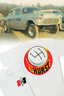 Hurst Competition Plus T-Shirt - Vintage Shifter Drag Gasser decal GTO Camaro