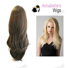 """Annabelles Wig 24"""" Synthetic Straight Wavy Half Head Wig Height Boosting–Claudia"""