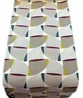 TABLE RUNNER -ASPEN geometric  GREY PURPLE LIME- runners
