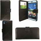 New Luxury Flip Stand Leather Cover Wallet Case for HTC Desire and One Phones