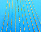 Wholesale Mixed 10X Jewelry Making DIY 18K GOLD FILLED Necklaces Chains Pendants
