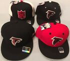 ATLANTA FALCONS SELECT 1 OF 4 ON FIELD SIDELINE FLAT BRIM FITTED NFL CAPS REEBOK