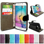 New Luxury Leather Card Holder Wallet Flip Case Cover for Samsung Galaxy + SP