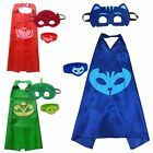 Superhero PJ Masks Cape Set Catboy Owlette Gekko Kids Clothing Accessories