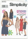 Simplicity 9063 JR Junior Knit Dress & Top Sewing Pattern