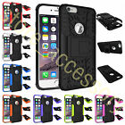For Smart Phones Embossed 2 In 1 Survivor Armor Case Kickstand Anti-Shock Cover