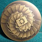 SAVINGS - SPIRAL / PILE - BANK 79mm 1980 BRONZE MEDAL