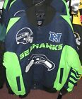 Seattle Seahawks Cotton Twill Team Jacket - Free Shipping - New