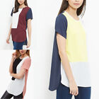 New Women's Loose Tops Short Sleeve Blouse Casual T-Shirt Shirts Plus Size S-6XL