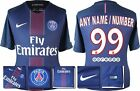 *16 / 17 - NIKE ; PSG HOME SHIRT SS / PERSONALISED = SIZE*