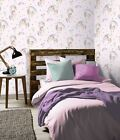 Arthouse Rainbow Unicorn Wallpaper Pink Feature Wall 696108