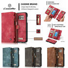 CaseMe Retro Classic Multi-Functional Clutch Wallet Case Cover Fr iPhone Samsung