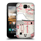 HEAD CASE DESIGNS DOODLE CITIES SERIES 3 HARD BACK CASE FOR LG K3