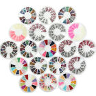 Nail Art Style Rhinestones Decoration Beads Pearl Wheel For UV Gel Polish Tips