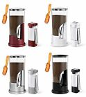 Zevro Coffee Dispenser & Sugar Dispenser With Gravity Coffee Scoop, 3 Piece Set