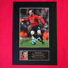 WAYNE ROONEY Mounted Signed Photo Reproduction Autograph Print A4 42