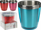 Coloured Double Walled Stainless Steel Ice Bucket Wine Cooler Champagne Cooler