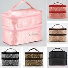 Beauty Travel Cosmetic Bag Zipper Multifunction Makeup Pouch Toiletry Case