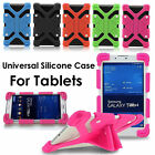 "Universal Silicone Rubber Gel Case Cover For Android Tablet PC 7"" 8"" 9"" 10"" 12"""