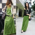 Women Sexy Maxi Vest Long Dress Sleeveless Cocktail Party Beach Sundress DZ88