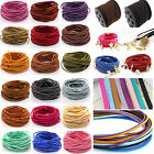 10yd DIY Wholesale Jewelry Making Cord 3mm Suede Leather String Bracelet Thread