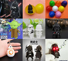 Star Wars Sound LED Light Flashlight Keyring Key Chain Surprise Egg Kid Gift Toy