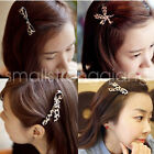Fashion Women Hairpins Multiple Pattern Leopard Hair Duckbill clip Barrette