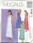 McCalls 3186 Misses Dresses Sewing Pattern