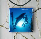 DOLPHIN FRIENDLY ANIMAL SEA LIFE PENDANT NECKLACE 3 SIZES CHOICE -hgr4Z