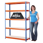 Steel Shelving Racking Bay *Special Offer* For Home Garage Storage 5 Tier 1780h