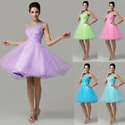 Short mini Evening Cocktail Dress Ball Bridesmaid Prom Homecoming Party Dresses