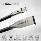 MICRO USB 2.0 ITEC ALLOY DATA SYNC CHARGER CHARGING CABLE LEAD FOR SAMSUNG BLACK